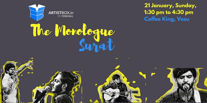 The Monologue - Surat  Poetry Music Stories Stand-up Comedy