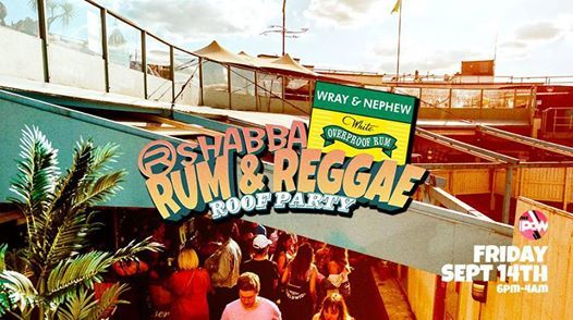 Rum Reggae & Afrobeats - Rooftop Party