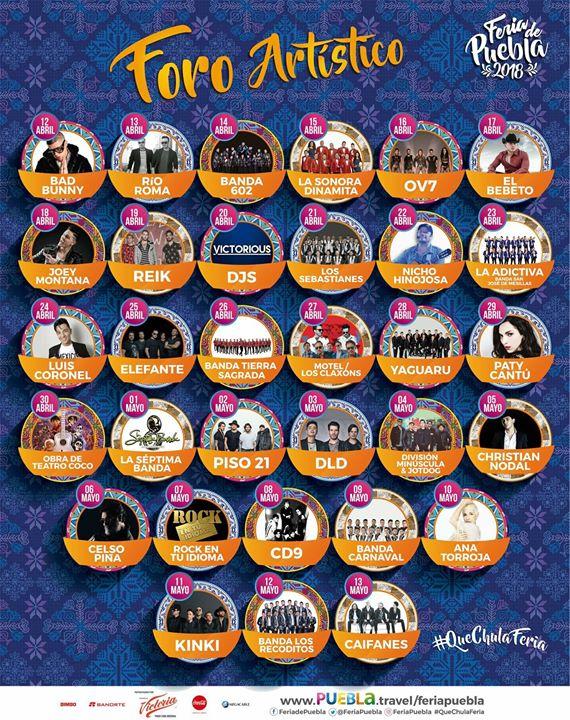 Foro Artstico Feria De Puebla 2018