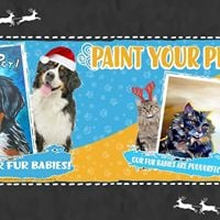 Paint Your Pet Kids (8-14 Only)