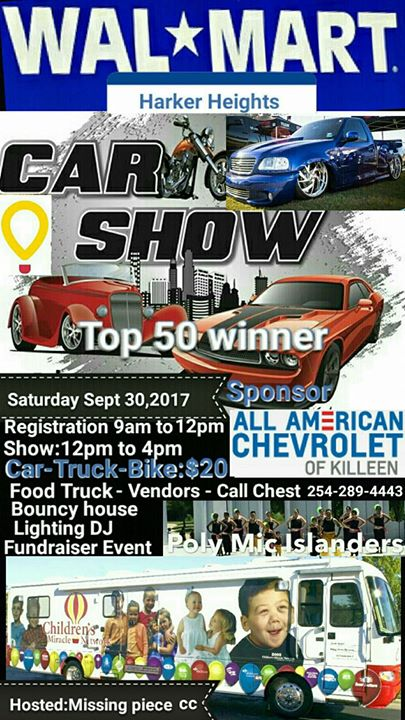 2nd annual childrens miracle network car show
