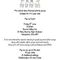 Pop Up Pop Tots at BVI