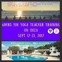 Yin Yoga Teacher Training 60hrs on Ibiza
