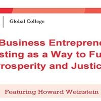 Social Business and Investing as a Way to Prosperity and Justice