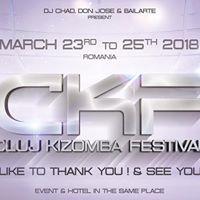 Cluj Kizomba Festival (3rd) - 2325 March 2018 - Romania