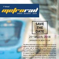 Metro Rail India Summit 2018