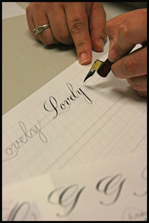 Calligraphy 101 Sanderson High School Raleigh
