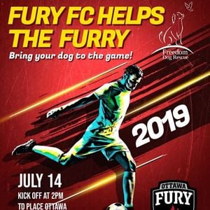 Fury FC helps the Furry