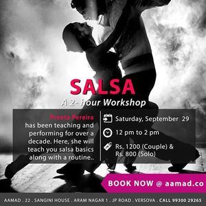 Salsa workshop with Preeta