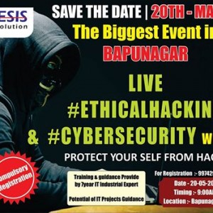 Live Cyber Security &amp Ethical Hacking Workshop
