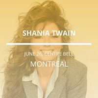 Shania Twain in Montreal