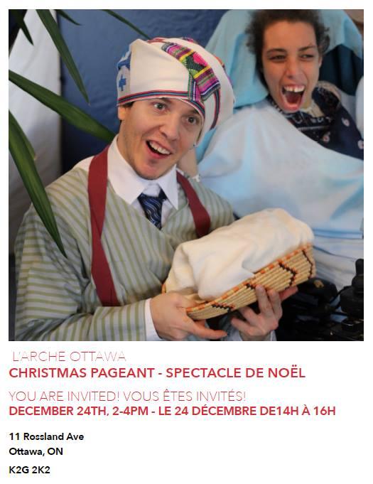 Christmas Paegant - Spectacle de Nol