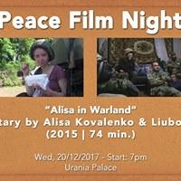 Peace Film Night Alisa in Warland