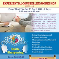 Banjara Academy presents &quotExperiential Counselling Workshop&quot