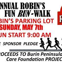Robins 5K Fun Run  Fun Walk