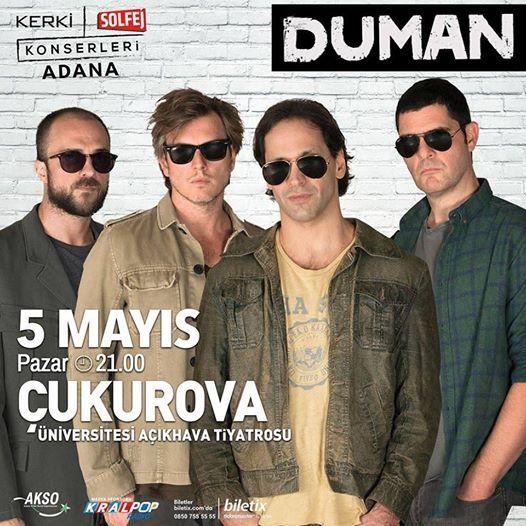 05.05.2018  DUMAN Adana Konseri