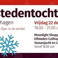 Elfsteden Shopping Culihoppen &amp Vossenjacht en livemuziek