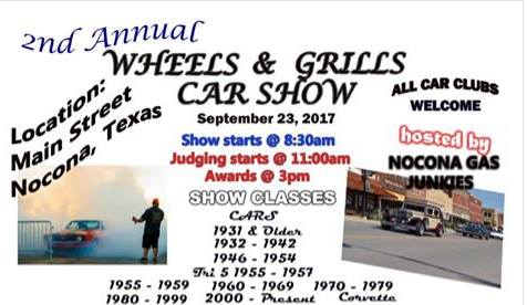 Wheels Grills Car Show At Nocona TX Nocona - Nocona car show