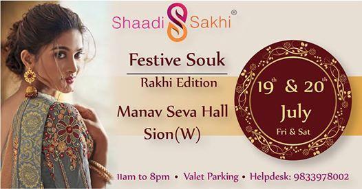 Shaadi Sakhis Festive Souk 2019-Rakhi Edition(Sion)