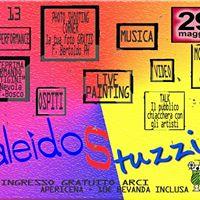CaleidoStuzzico - aperitivo expo angolo foto e artisti