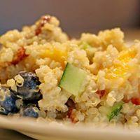 Jersey Fresh Fridays Peach Pecan &amp Quinoa Salad
