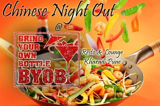Chinese Night Out  Food Drinks Music Night Long Party