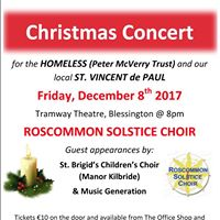 Christmas Charity Concert 2017 in Wicklow.