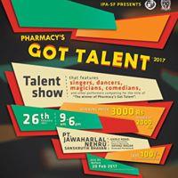 Phrmcys GOT Talent