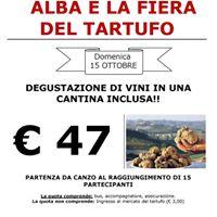 Degustazione vini visita citt di Asti e fiera del tartufo