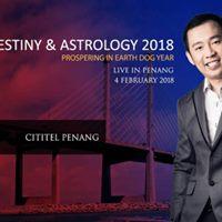 Penang Kevin Foong Destiny &amp Astrology 2018
