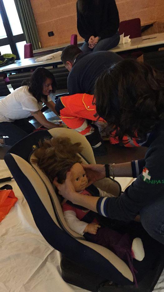 Estricazione e Trasporto paziente Pediatrico