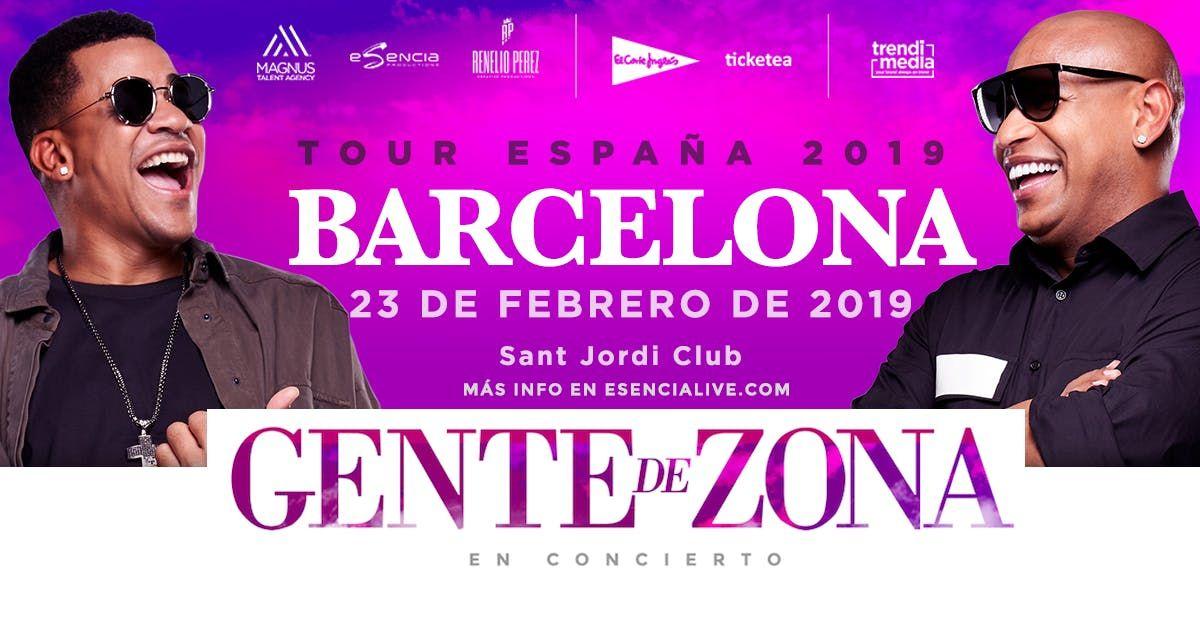 Gente de Zona en Barcelona