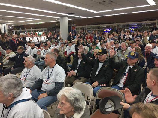 Leatherstocking Honor Flight Send-Off Ceremony