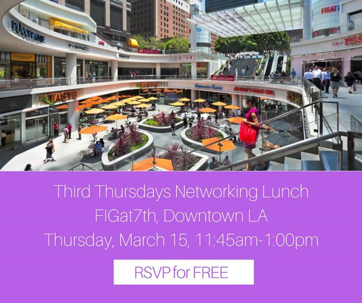 March 2018 DTLA Nonprofit Networking Lunch (FREE)