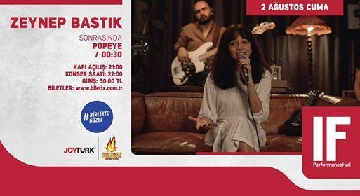 Zeynep Bastk  IF Performance Hall Ankara
