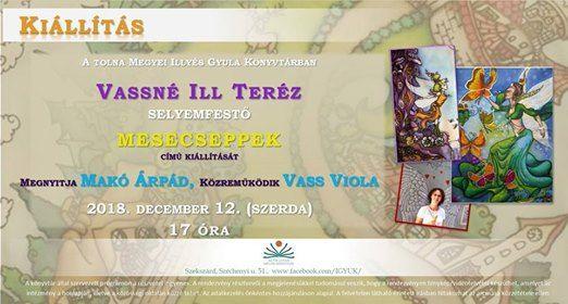 Mesecseppek - Vassné Ill Teréz kiállítása at Illyés Gyula Megyei ... e8c9b7cf77