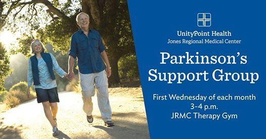 Parkinsons Support Group At Jones Regional Medical Center1795