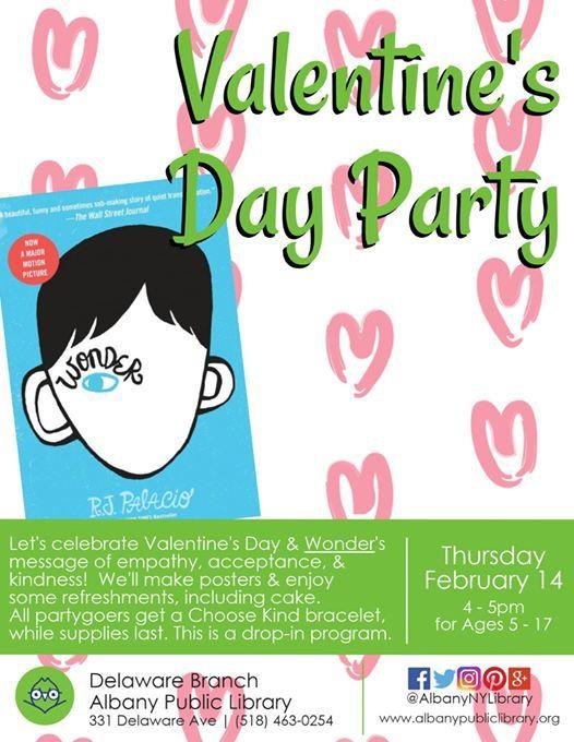 Wonder Valentines Day Party