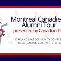 Montreal Canadiens Alumni Tour in Kirkland Lake