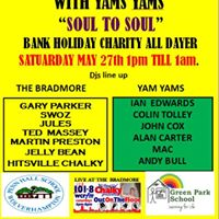 Soul to Soul Bank Holiday Charity All Dayer