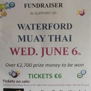 Waterford Muaythai Bingo Night At The Forum