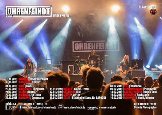 OHRENFEINDT at Spectrum Augsburg