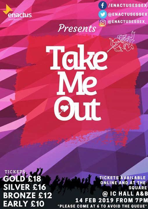 Take Me Out 2019 At Ic Hall Aco43sq Colchester Essex Colchester
