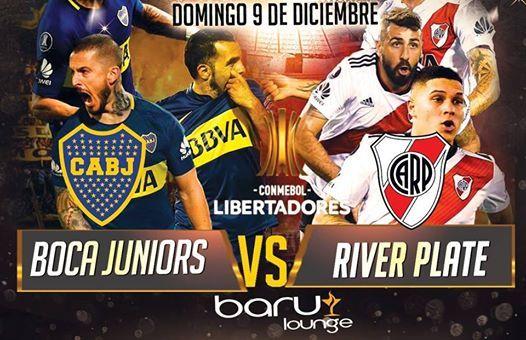 La Gran Final de Libertadores  Boca Junios vs. River Plate