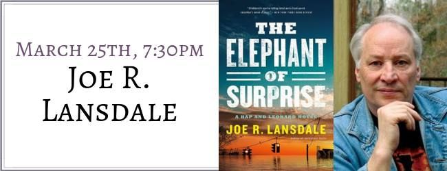 Book Signing Joe R. Lansdale - The Elephant of Surprise