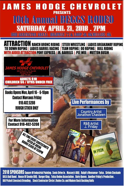 10th Annual Beggs Open Rodeo at Muscogee (Creek) Nation