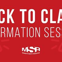 Back To Class Information Session