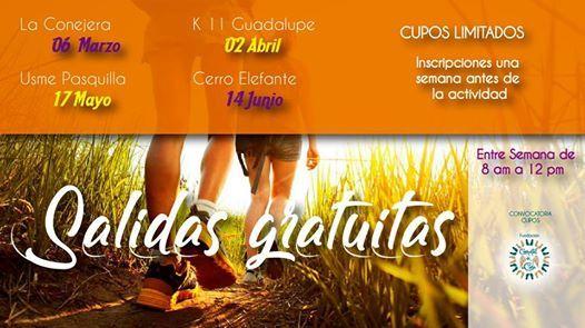 Salidas Gratuitas en Bogota - Entre semana en la montaa