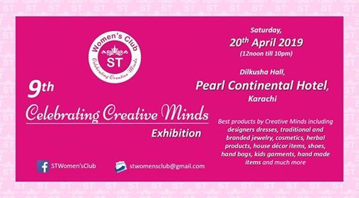 9th ST Womens Club Celebrating Creative Minds Exhibition