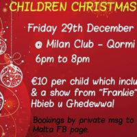 Children Christmas Party